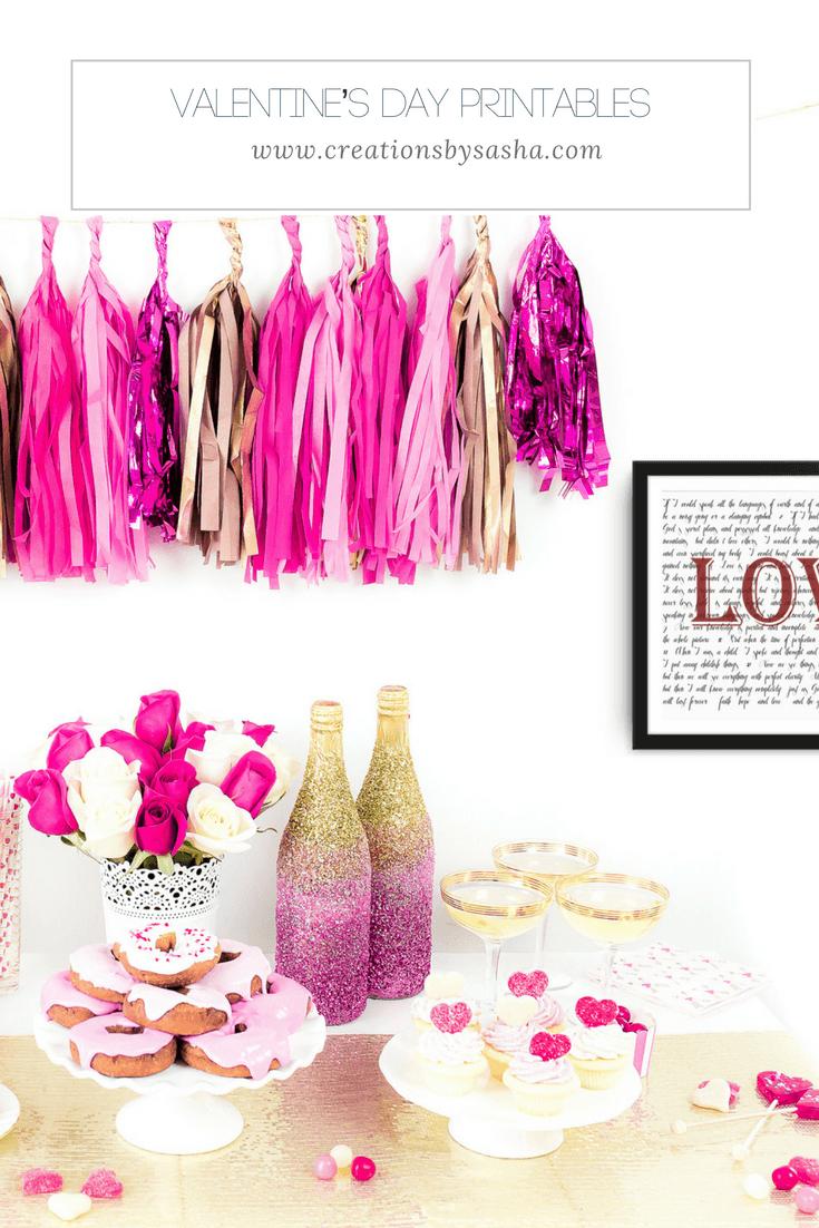 Valentine's Day Printables - www.by-sasha.com