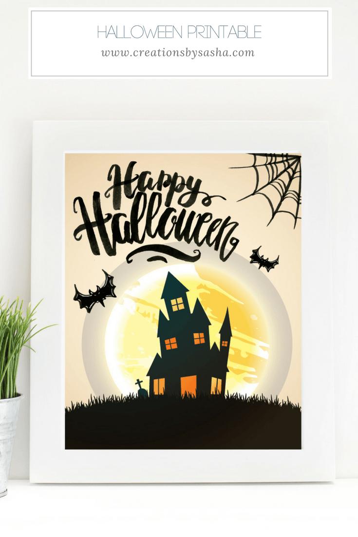 Halloween Printable - www.by-sasha.com