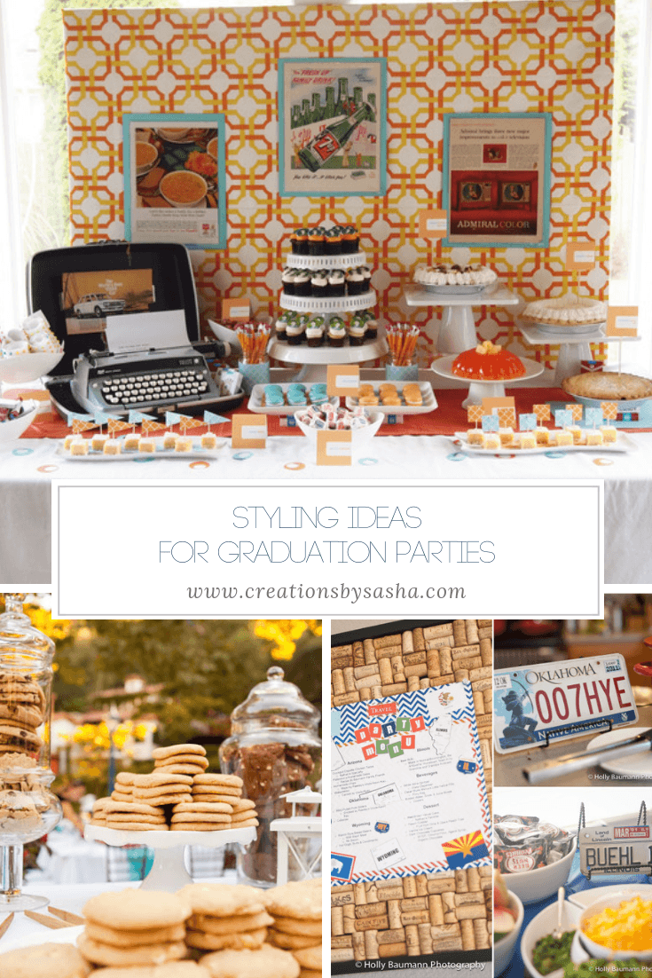 Styling Ideas for Graduation Parties - www.by-sasha.com