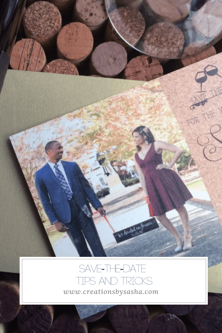 Save-the-Date Tips and Tricks - www.by-sasha.com