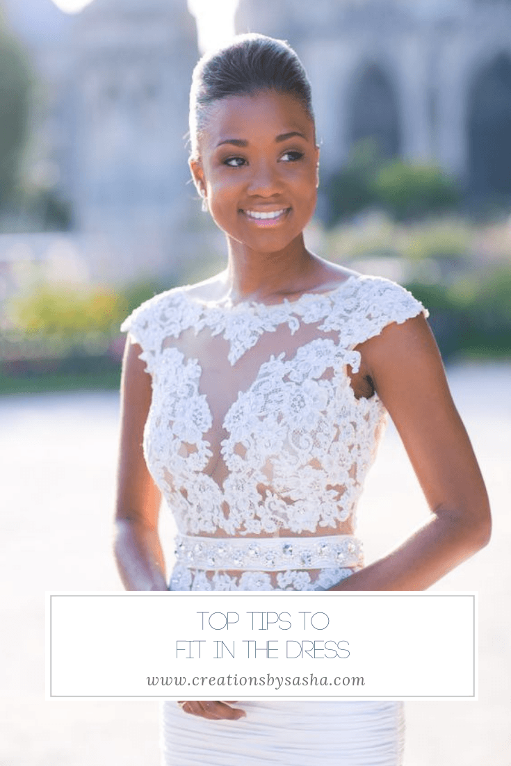 Top Tips to Fit in the Dress - www.by-sasha.com