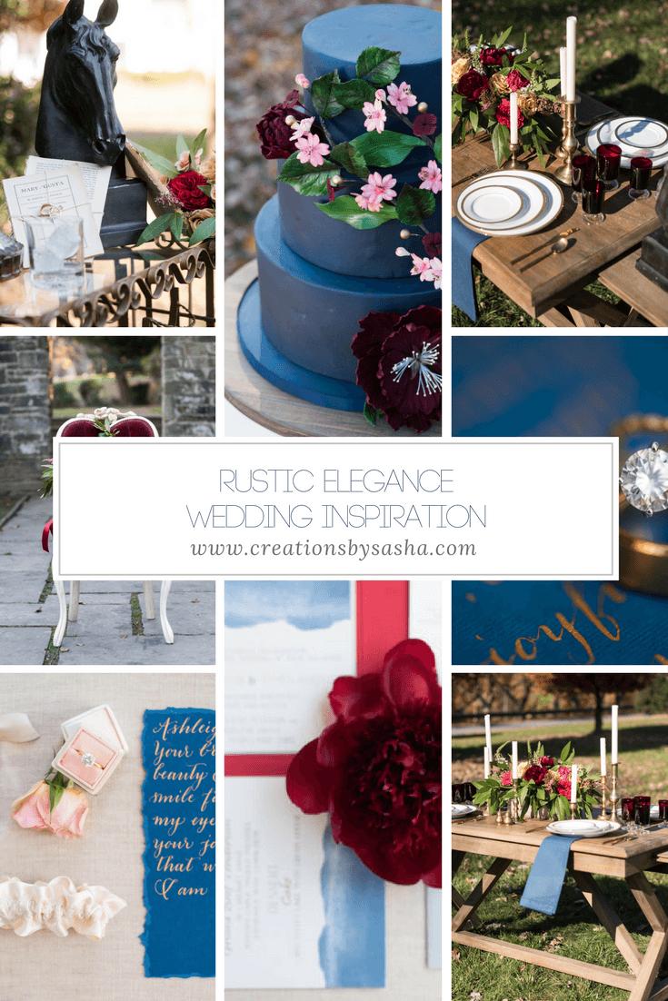 Rustic Elegance Wedding Inspiration - www.by-sasha.com