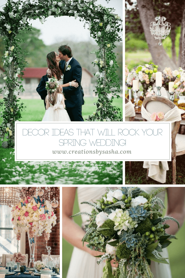 Decor Ideas That Will ROCK Your Spring Wedding! - www.by-sasha.com