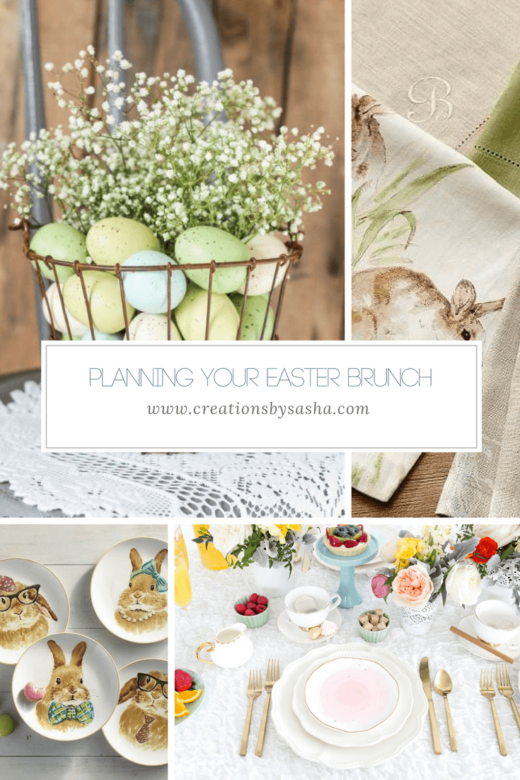 Planning Your Easter Brunch - www.by-sasha.com