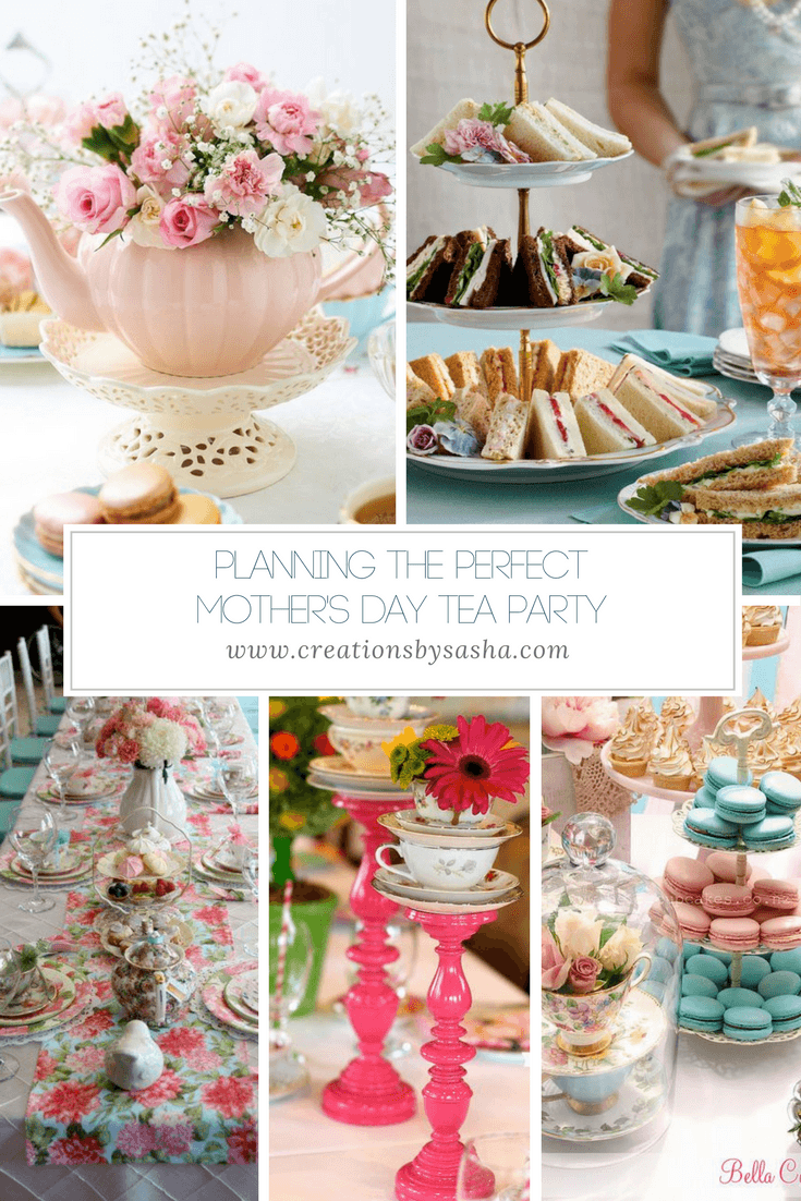 Planning the Perfect Mother's Day Tea Party - www.by-sasha.com