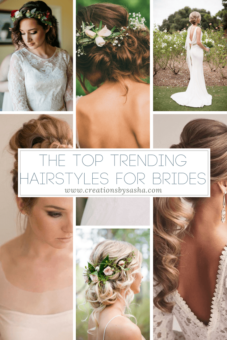 trending hairstyles, wedding hairstyles