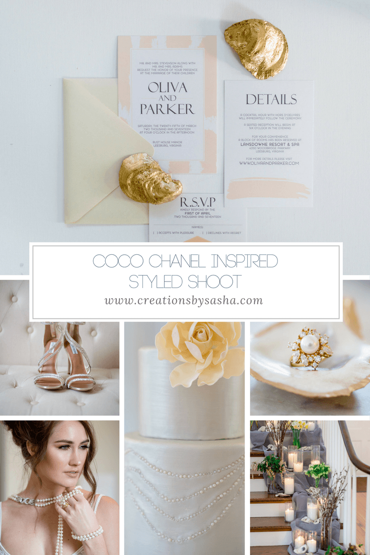 A Coco Chanel Inspired Styled Shoot - www.by-sasha.com