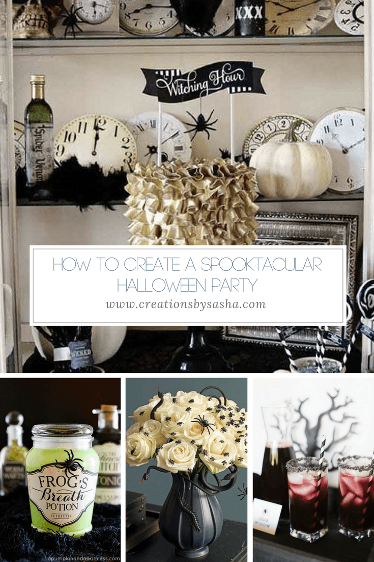How to Create a Spooktacular Halloween Party - www.by-sasha.com