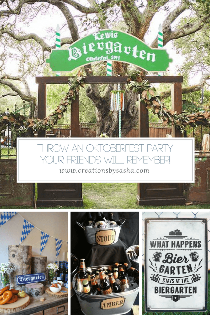 Throw an Oktoberfest Party That Your Friends Will Remember - www.by-sasha.com