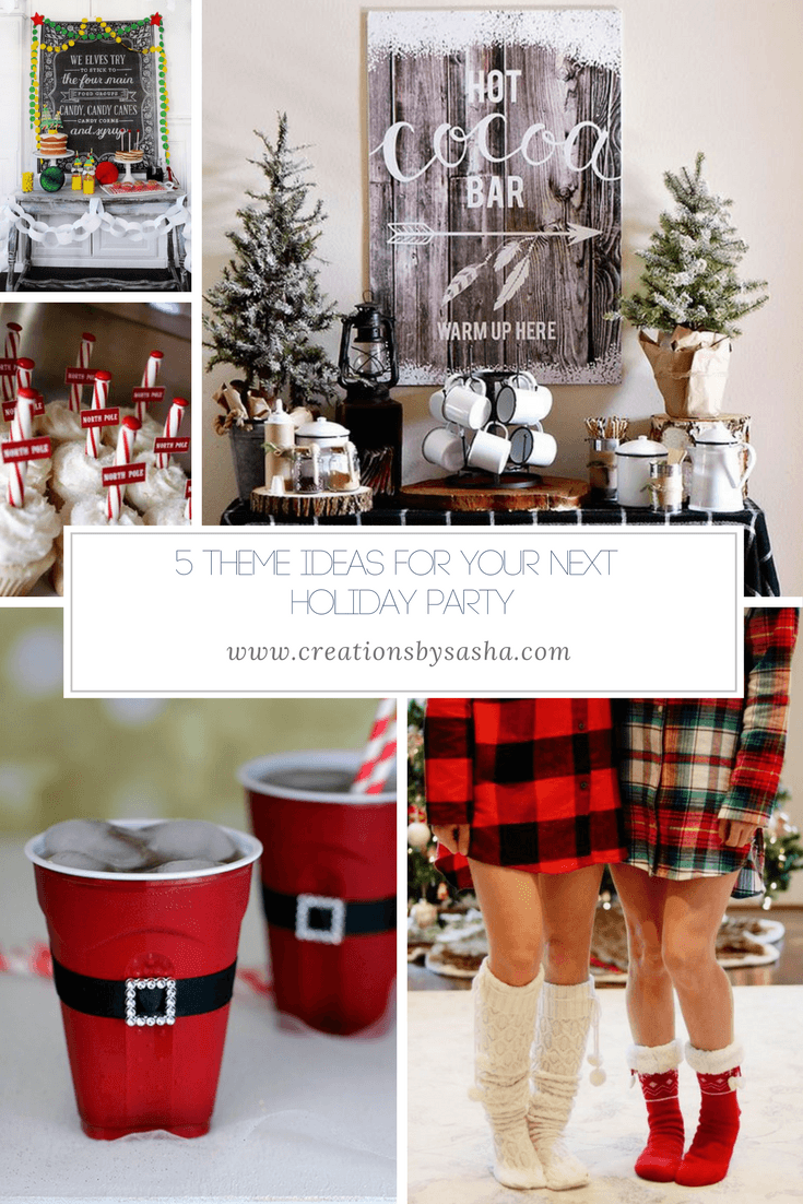 5 Theme Ideas For Your Next Holiday Party - www.by-sasha.com