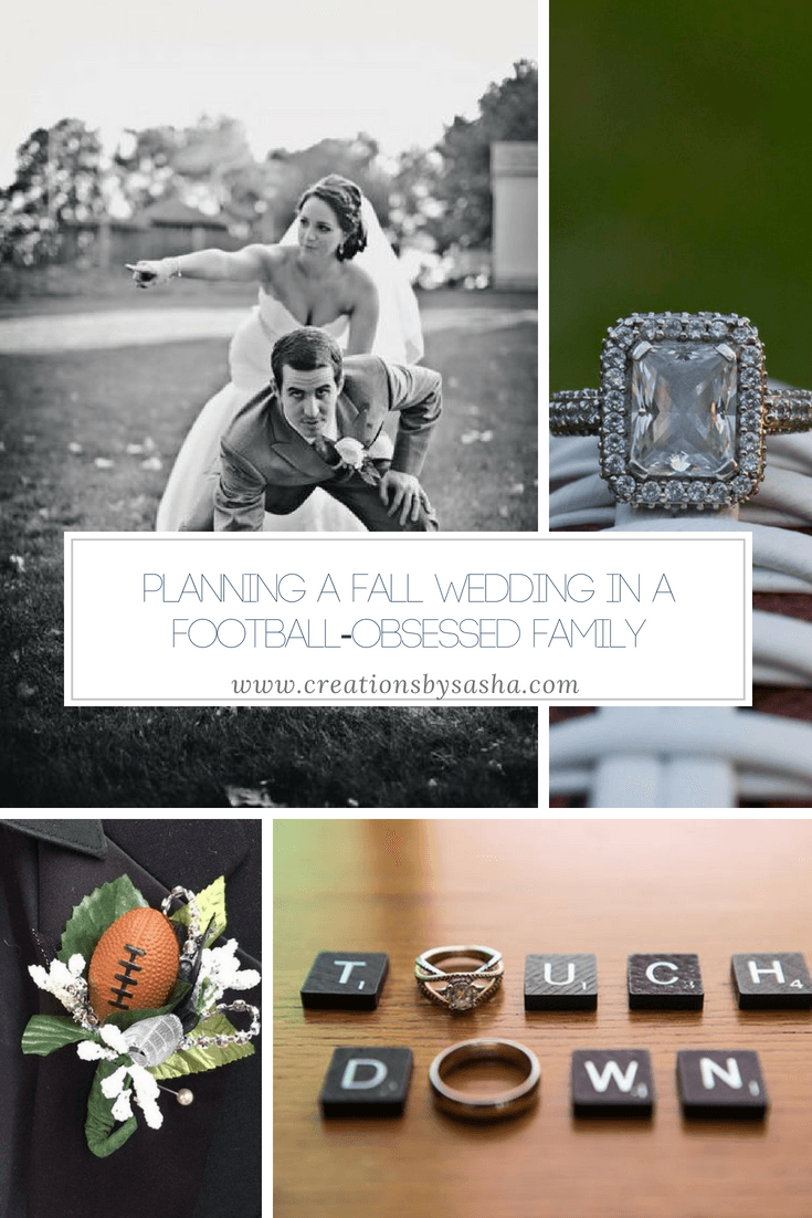 Planning a Fall Wedding in a Football-Obsessed Family - www.by-sasha.com