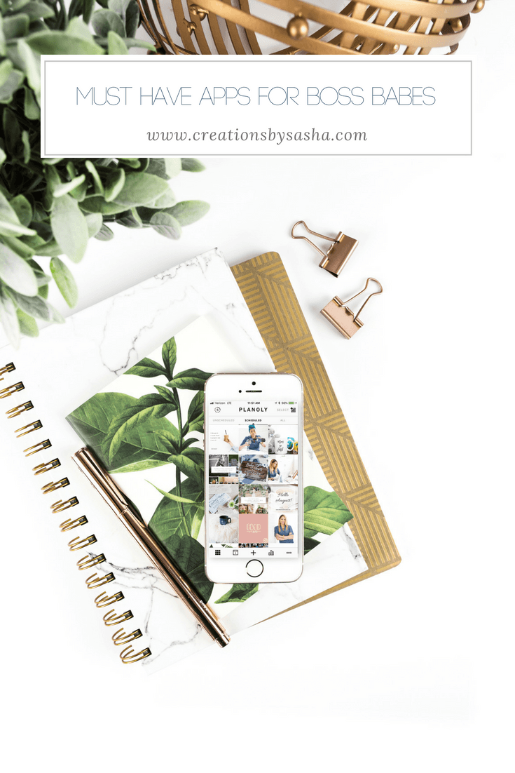 Must Have Apps for Boss Babes - www.by-sasha.com