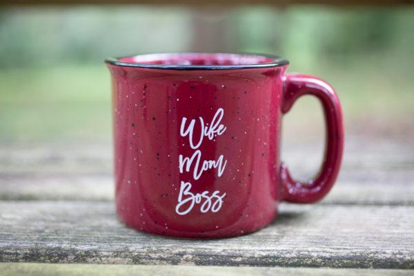 Wife, Mom, Boss Mug - www.by-sasha.com