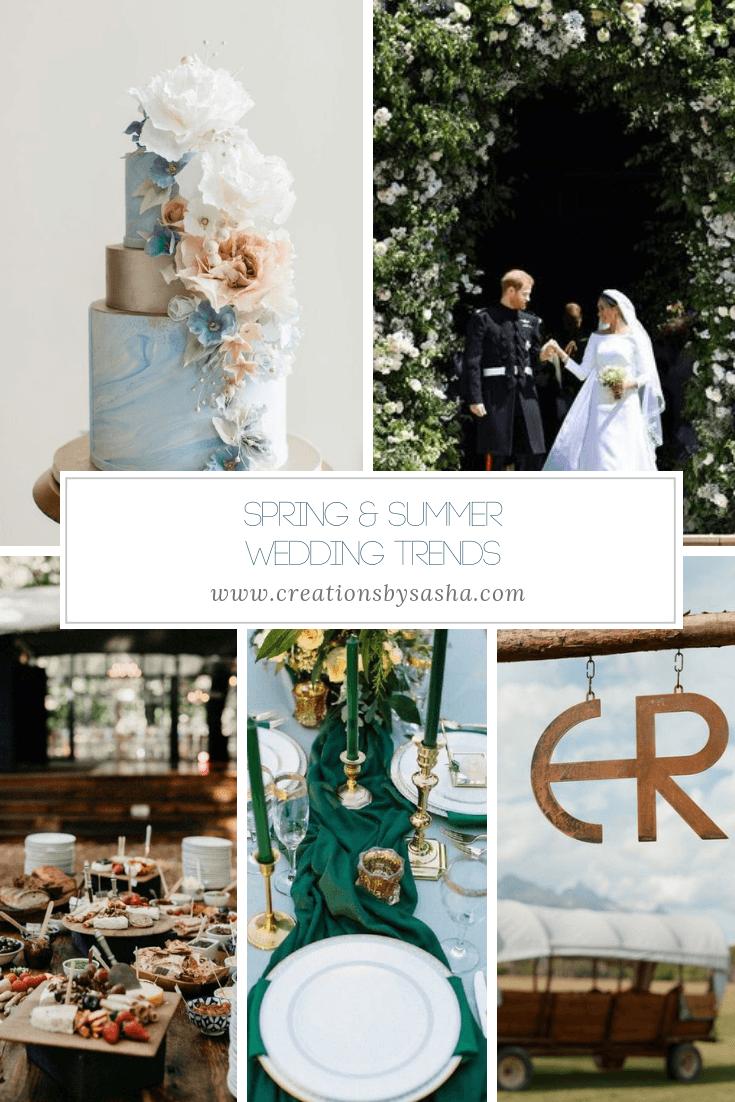 Spring & Summer Wedding Trends - www.by-sasha.com