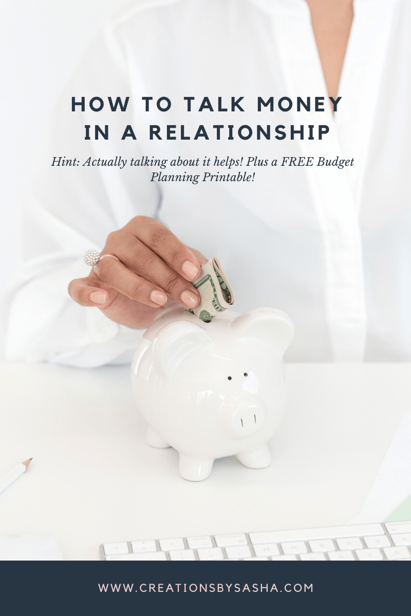How to Talk Money in a Relationship with FREE Budget Printable
