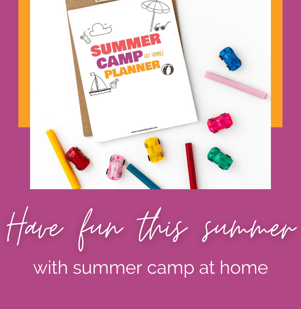 Have Fun This Summer With Summer Camp at home Blog Banner