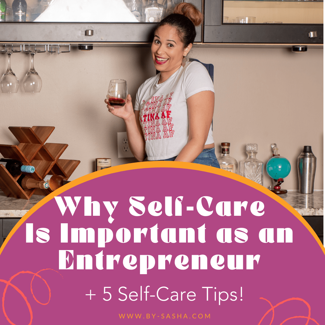 Why Self-Care Is Important as an Entrepreneur - woman holding wine glass smiling