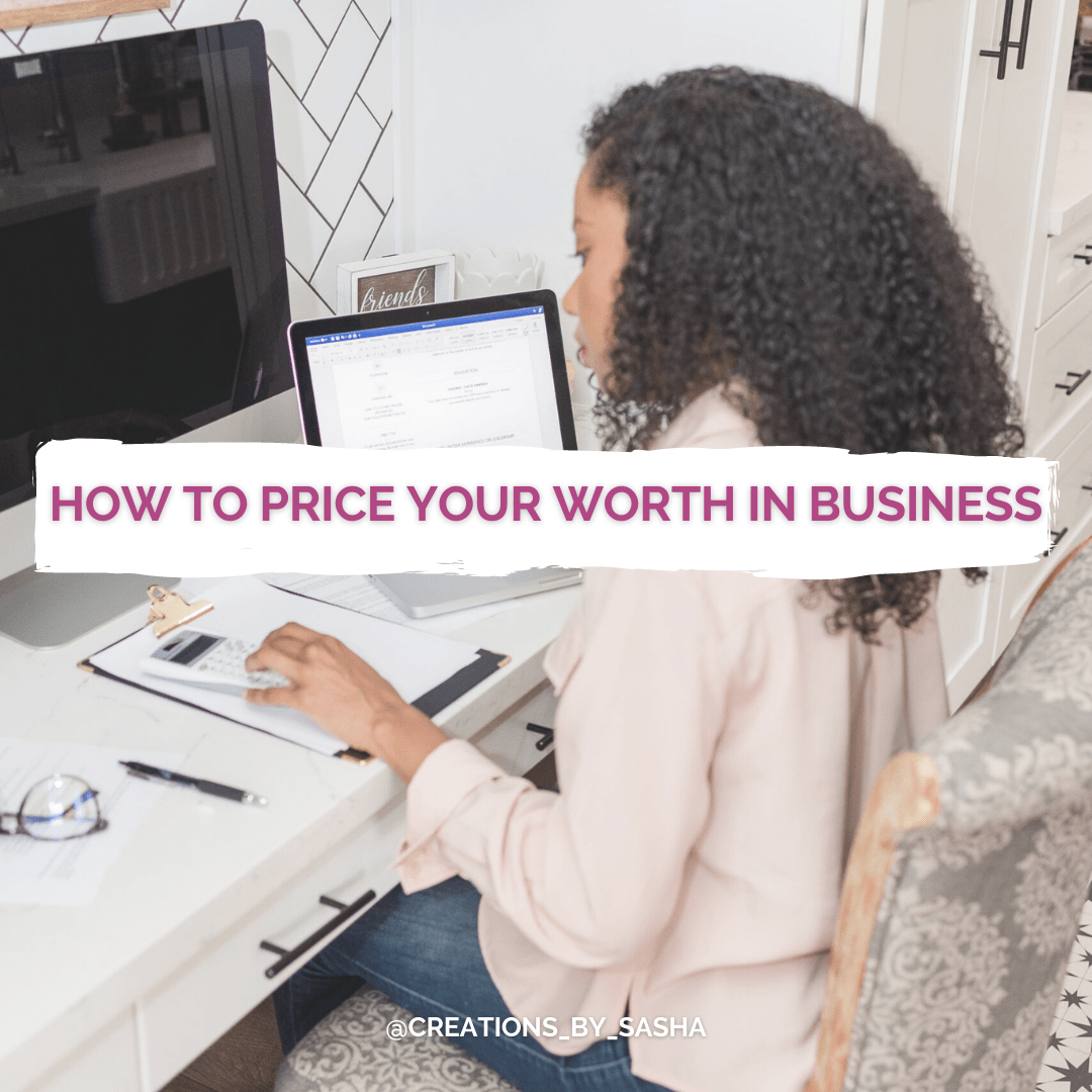 How to price your worth in business